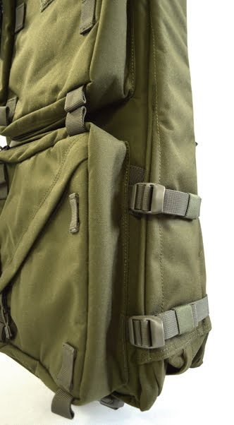 Aim folding stock drag bag